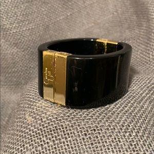🌙 Caroline Hill Black and Gold Cuff